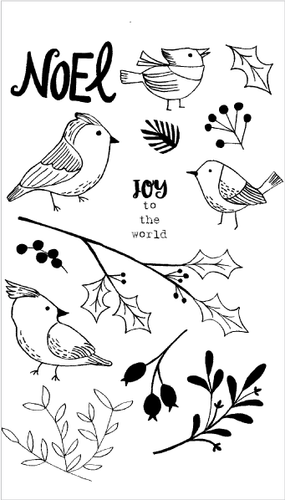 20151 Winter Aviary Set