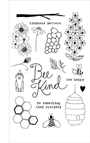 20164 Bee Kind Set