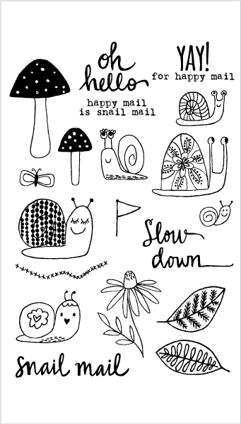 20172 Slow Down Snail Set