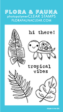 20193 Mini Tropical Turtle Set