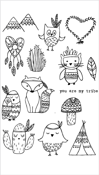 20213 You Are My Tribe Set