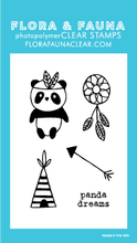 20220 Mini Panda Teepee Set