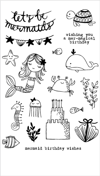20236 Mermaid Birthday Party Set