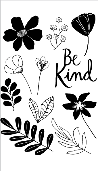20306 Be Kind Flowers