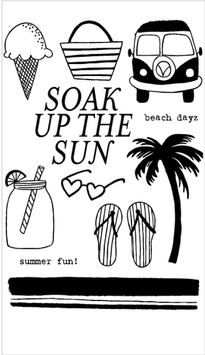 Soak Up the Sun Set + Die Bundle