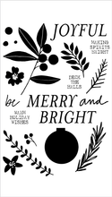 Merry and Bright Ornament Set + Die Bundle