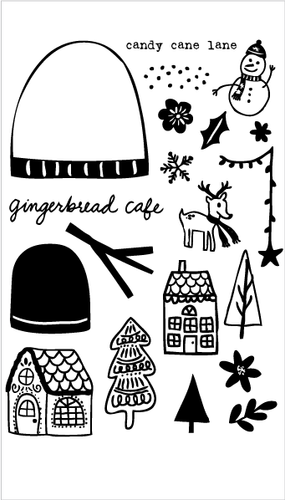 Gingerbread Cafe Set + Die Bundle