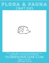 30087 Woodland Hedgehog Die