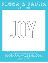 30124 Typed Joy Die