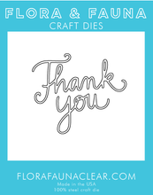 30152 Thank You Cursive Die