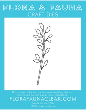 30206 Laural Wreath Branch Die