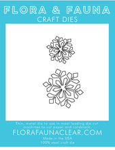 30221 Small Snowflake Duo Die