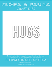30233 Hugs Typed Die