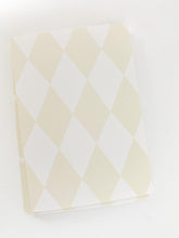 Patterned Note Card - Light Birch Diamond