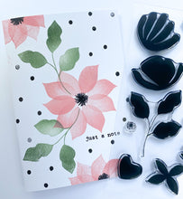 Brush Petal 3 Set + Die Bundle
