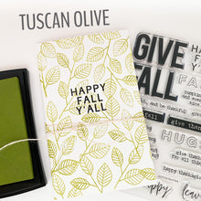 Tuscan Olive Fresh Ink