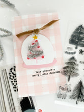 Bottle Brush Snowglobe Set + Die Bundle