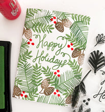 20346 Holiday Greenery Stamp Set