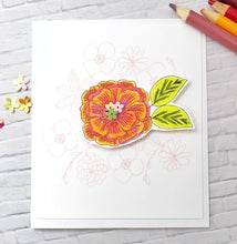 20166 Floral Aviary Set