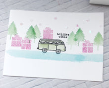 20211 Mini Holiday Van Set