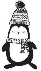 Winter Penguin (1630F)