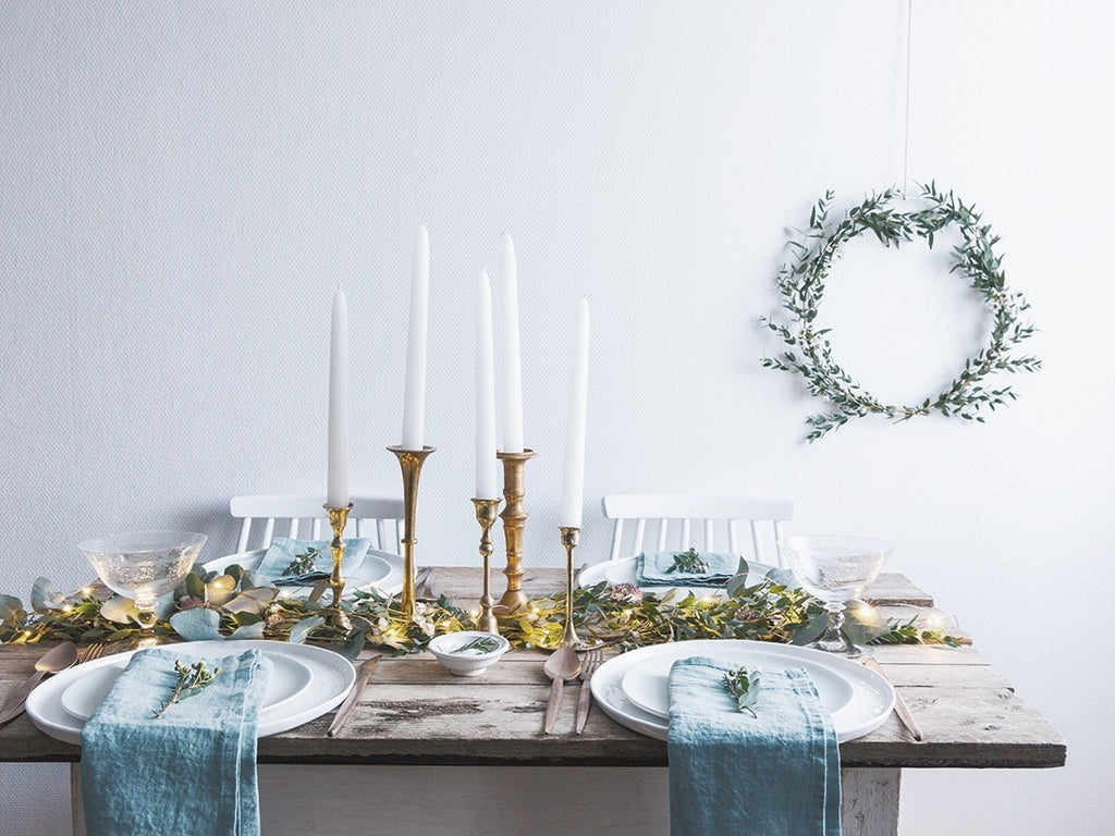 Inspirations déco : la table de Noël version nature
