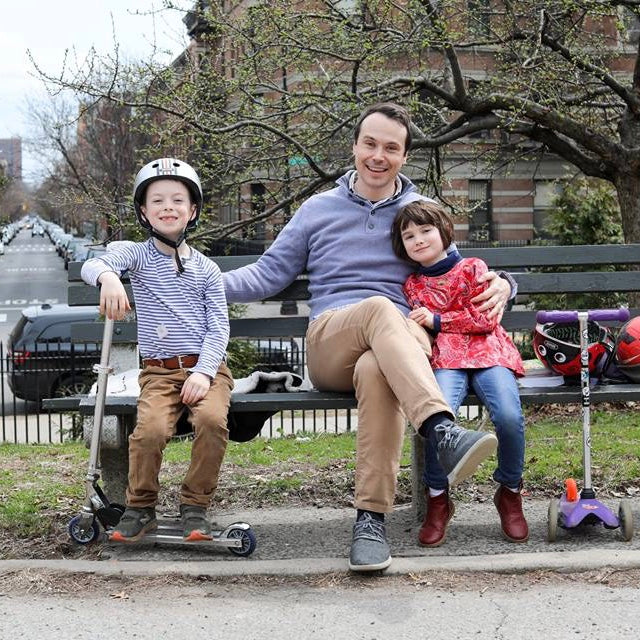 Humans of New York papa de jumeaux famille father of twins family