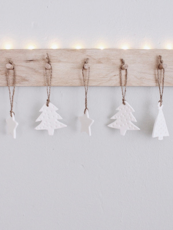 Ornements de Noël DIY