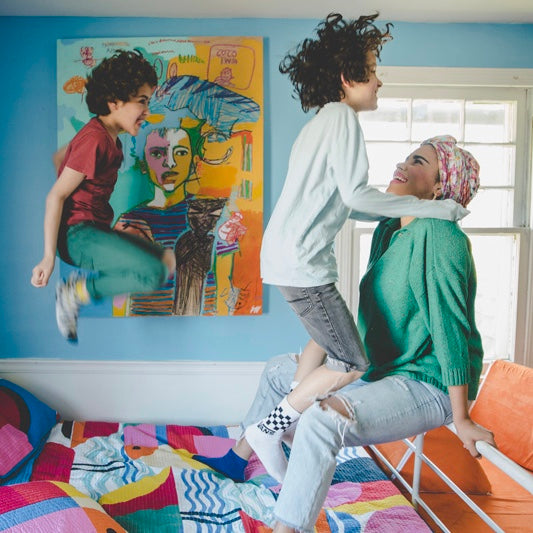 A CLEVELAND ARTIST ON LIVING IN COLOR & RAISING A SON WITH AUTISM famille amour
