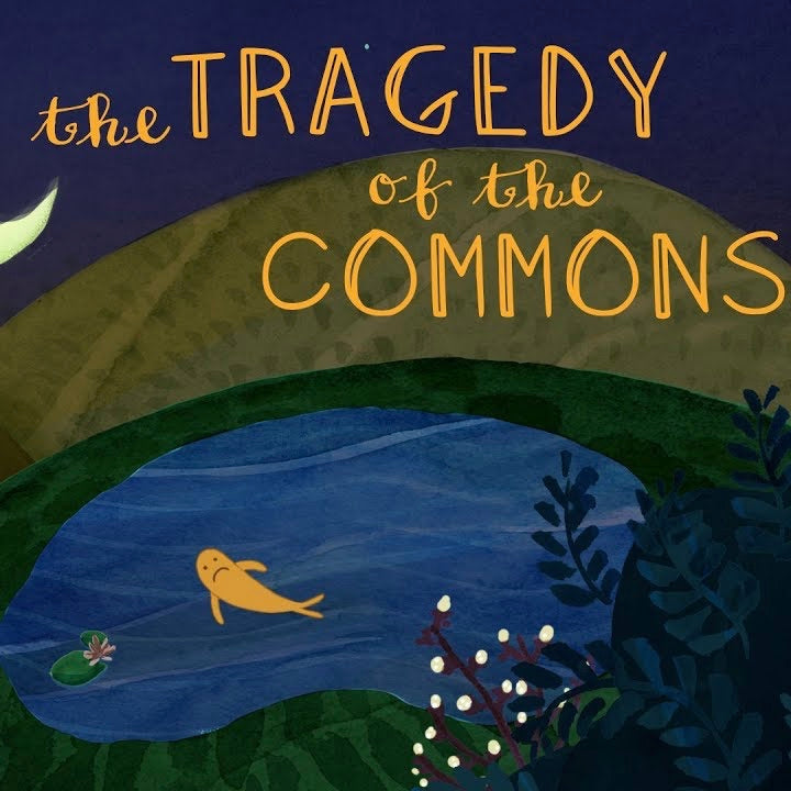 The tragedy of the commons TEDEd