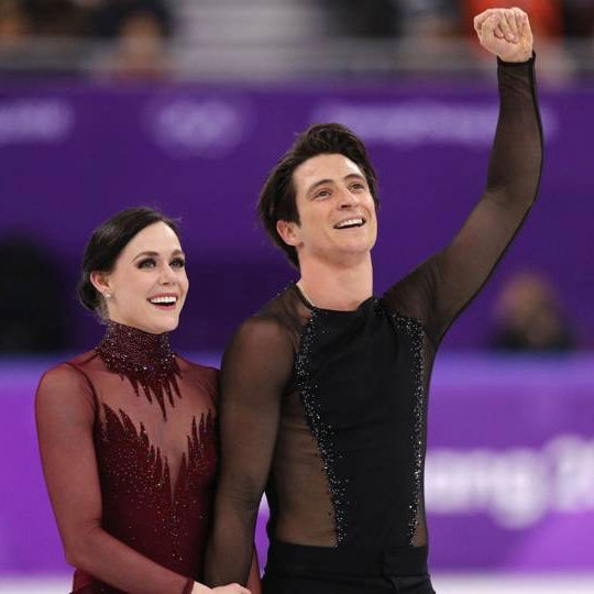 Tessa Virtue et Scott Moir JO