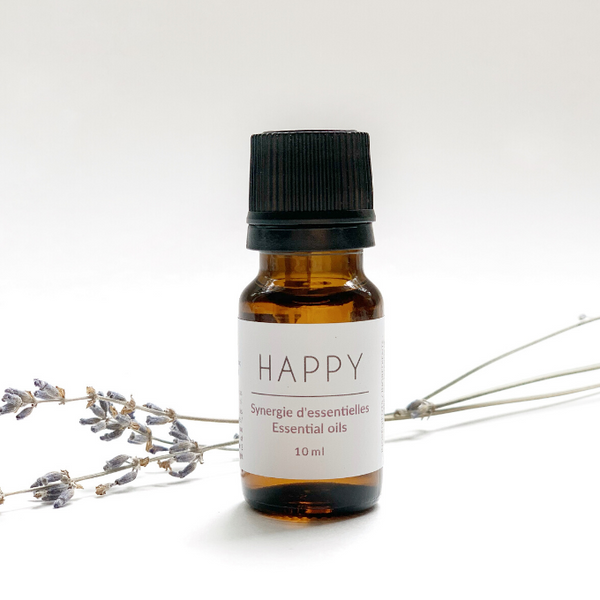 Happy - synergie d'huiles essentielles