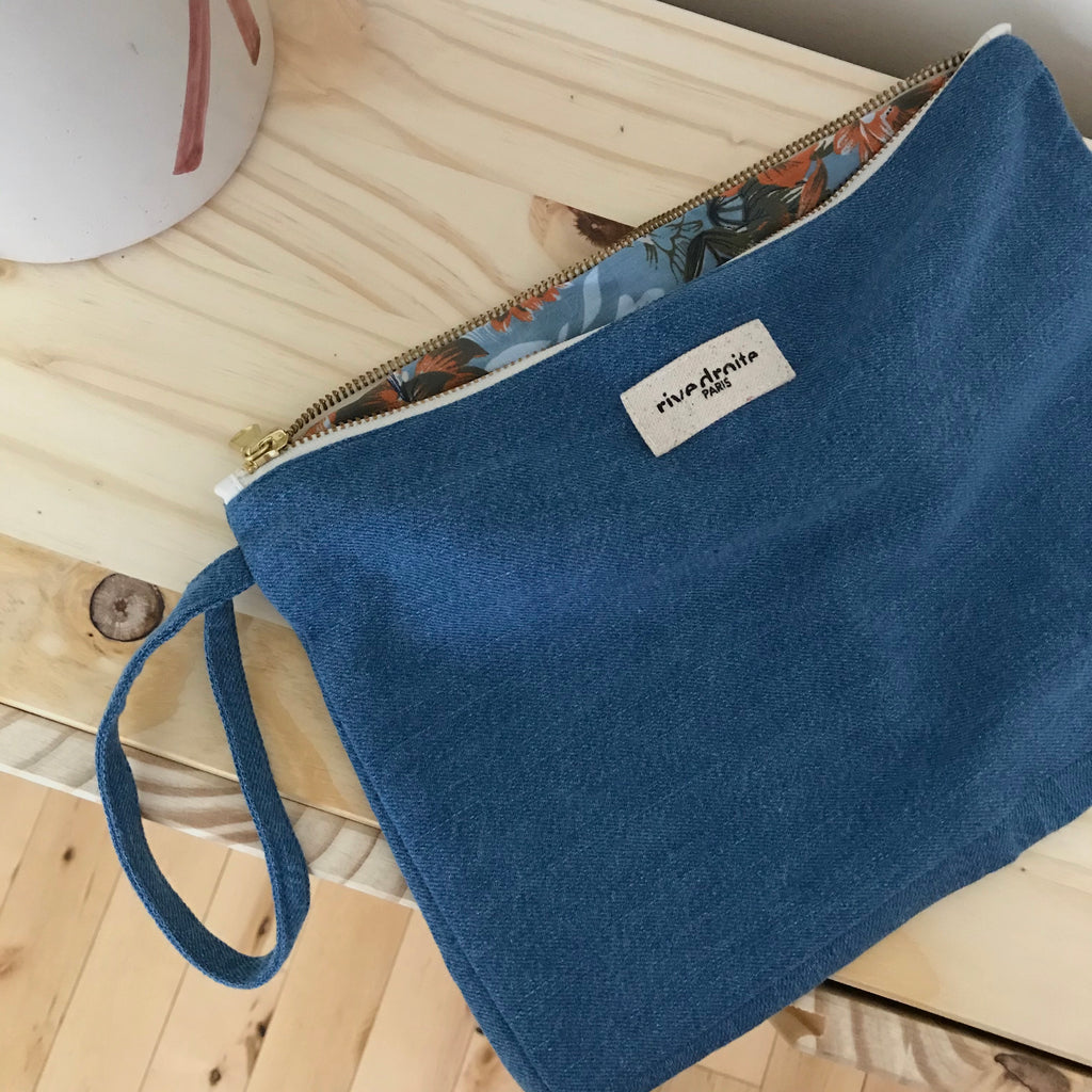 Trousse Barbette - Denim clair