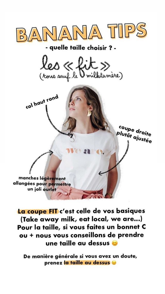 T-shirt allaitement Eat local