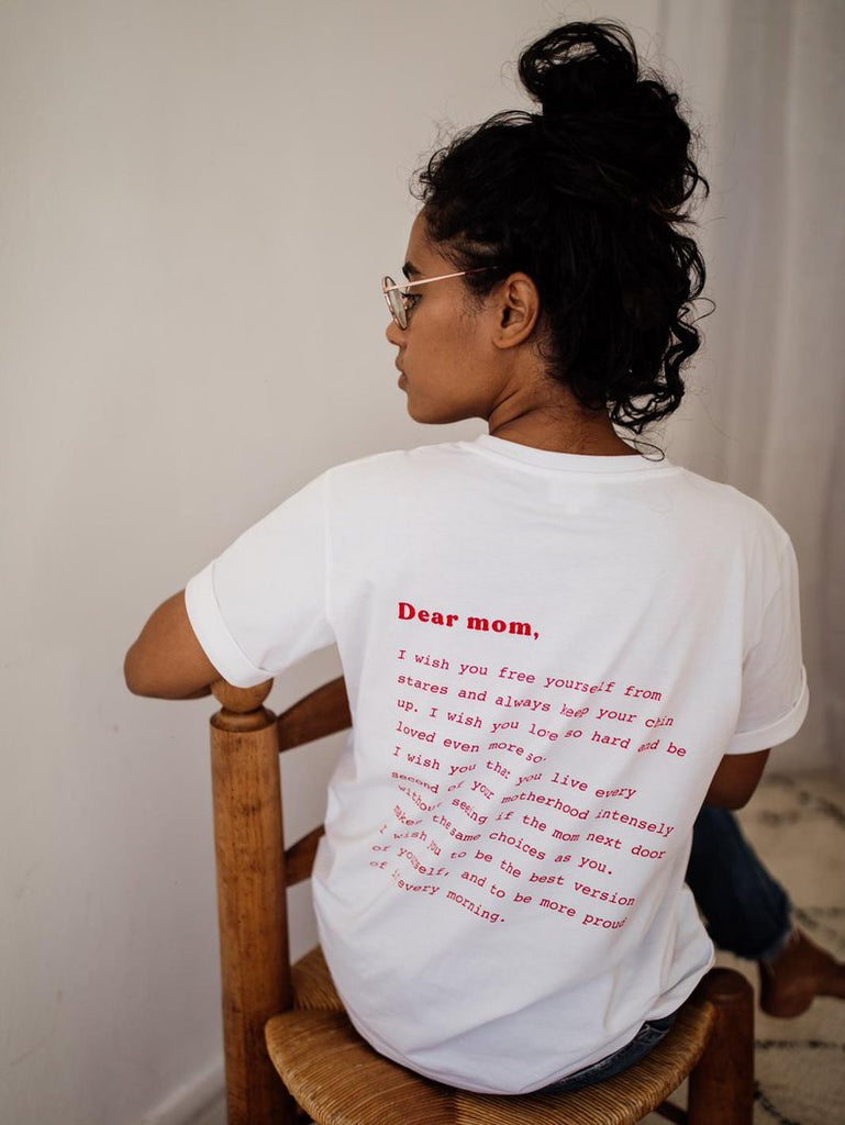 T-shirt d'allaitement - Dear mom
