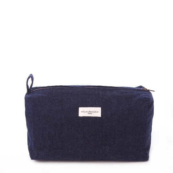 Trousse Alma - Denim Brut