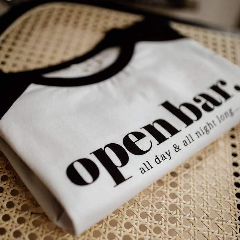 T-shirt allaitement Open bar