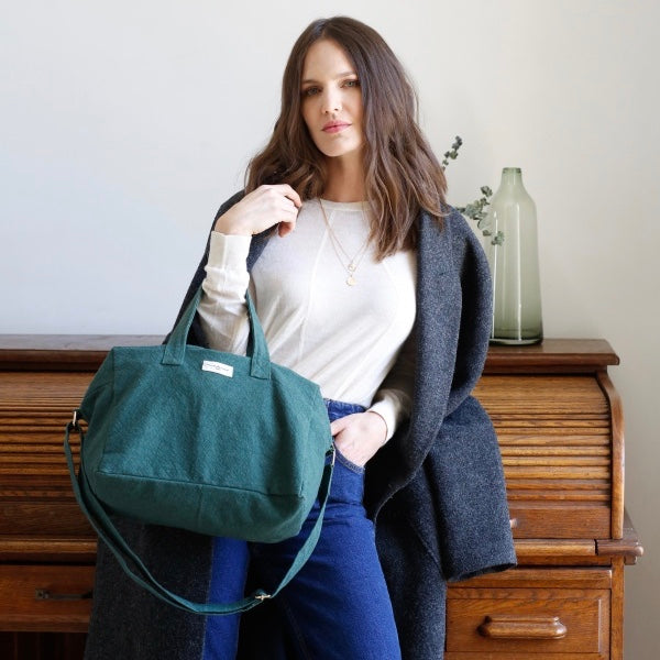 Sauval le city bag - Vert Malachite