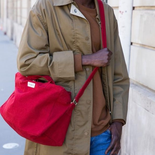 Sauval le city bag - Rouge vibrant