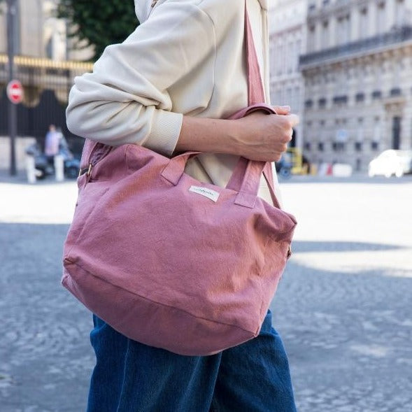 Sauval le city bag - Bois de rose