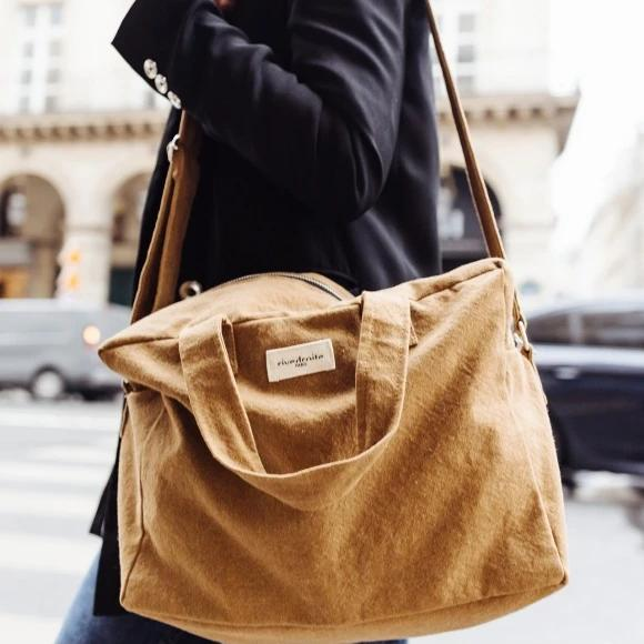 "Sauval le city bag - Camel ""Sweet Tobacco"""