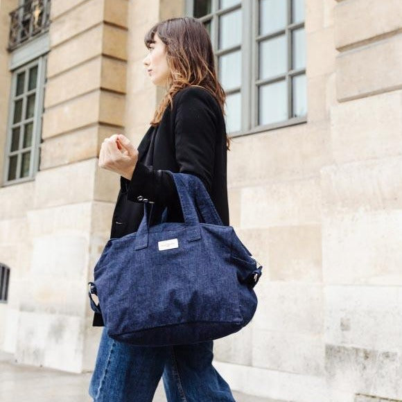 Sauval le city bag - Denim Brut