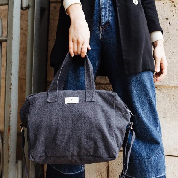 Sauval le city bag - Gris Ardoise