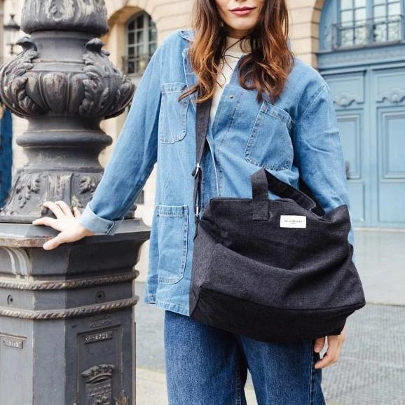 Sauval le city bag - Noir