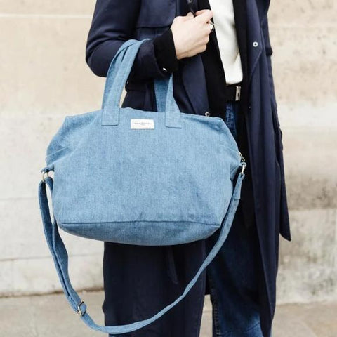 Sauval le city bag - Denim Clair