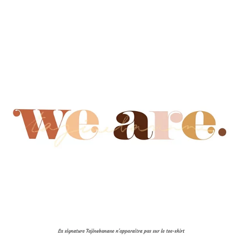 T-shirt allaitement We are