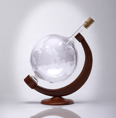 World Globe Decanter 16.9 oz