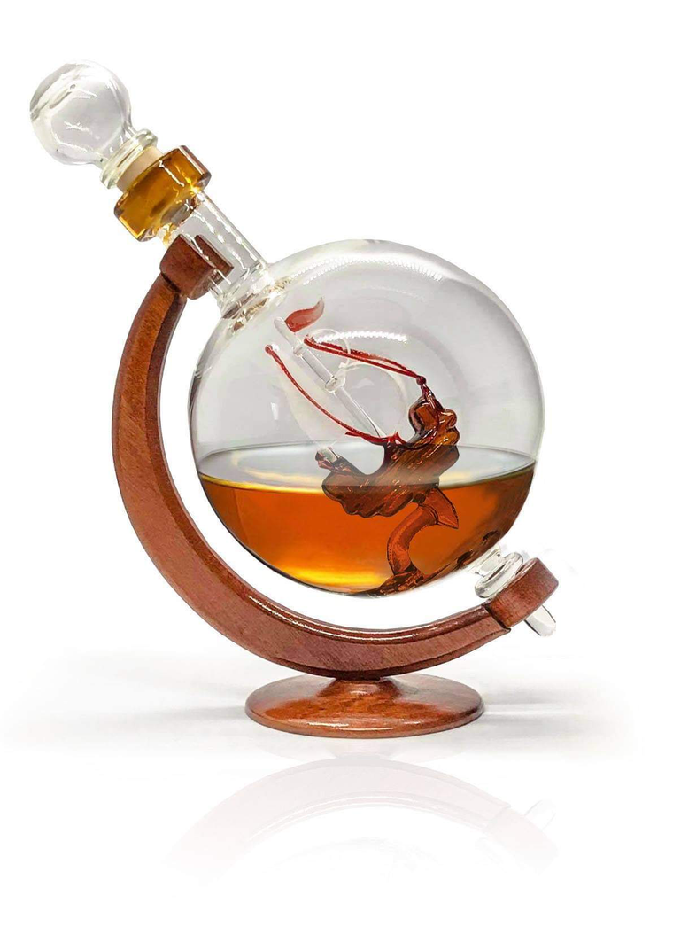 Ship Liquor Decanter - A new way to serve your spirits
