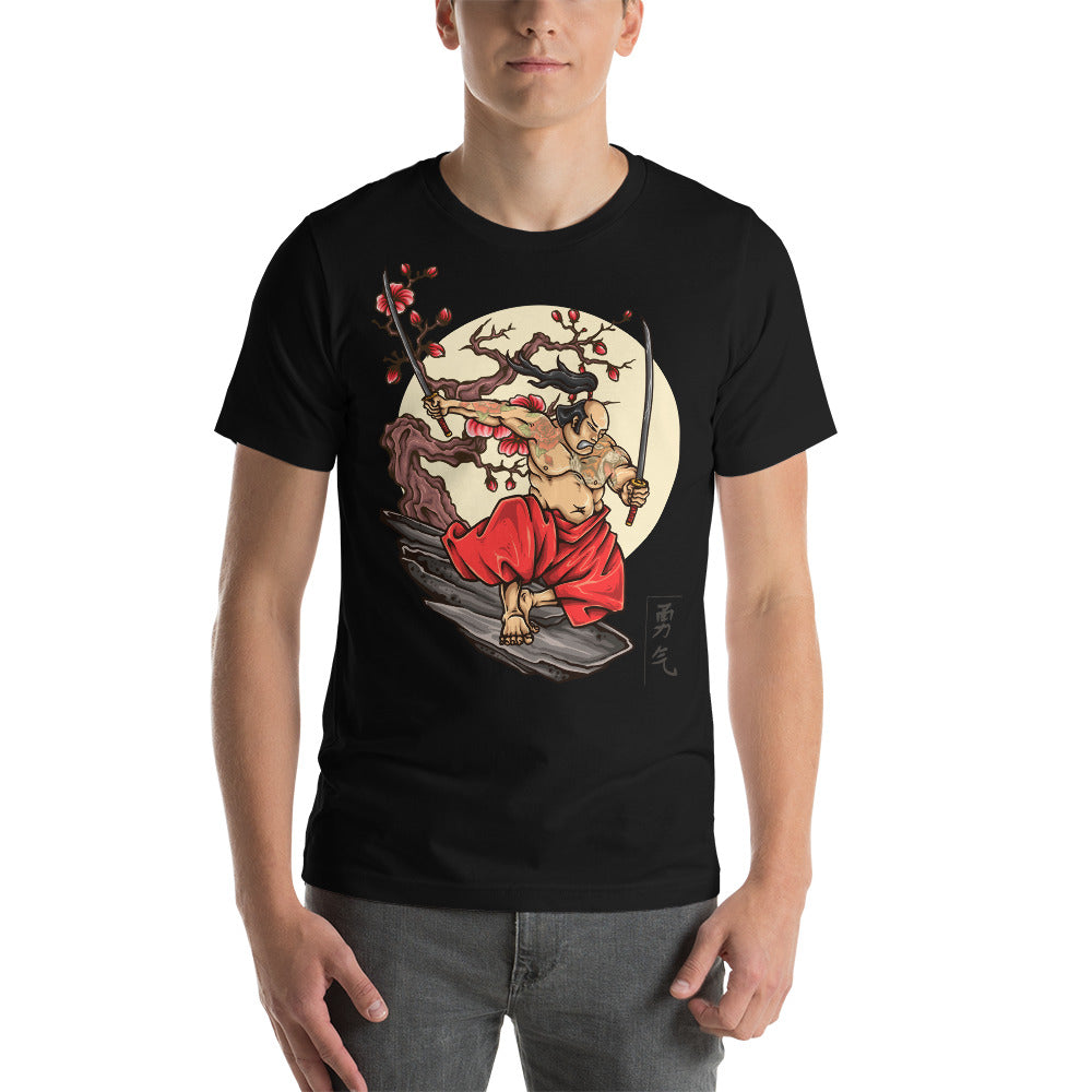 Samurai Warrior T-Shirt - TshirtBoost