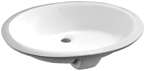 Rhodes Series 21.5 in. Ceramic Undermount Sink Basin in White